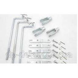 Комплект для підключення розподільника РП70, МРС70 (тяги + важелі + штуцера + шайби) повний