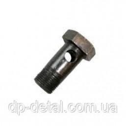 Болт-штуцер 40-4607037 (МТЗ, ЮМЗ-6) М24х1.5х55 (1 отверстие) Р-80