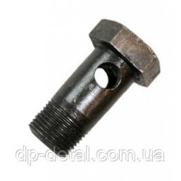 Болт-штуцер 40-4607032 (МТЗ, ЮМЗ-6) М20х1.5х40 (1 отверстие)