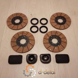 Комплект гальмівних дисків ЮМЗ