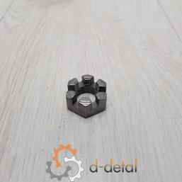 Гайка корончатая (МТЗ-82) раздаточной коробки ПВМ (М18х1.5)