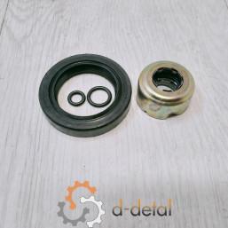 Ремкомплект водяного насоса Д-240 (МТЗ) РТИ + сальник + ущільнення «бочонок» (н/з)
