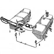 Запчастини паливної системи МТЗ 80, 82