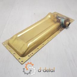 Бак радіатора ЮМЗ нижній під двигун СМД, Д-240 (латунь)