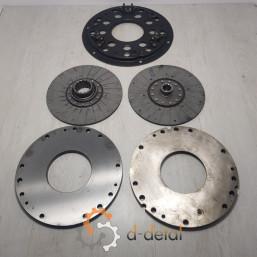Комплект дисків для корзини зчеплення трактора ЮМЗ