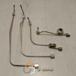 Комплект паливопроводів 1-4 циліндрів ЮМЗ (комплект)