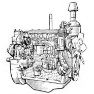 Запчасти на двигатель Д-65 ЮМЗ